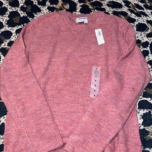 Pink light weight sweater